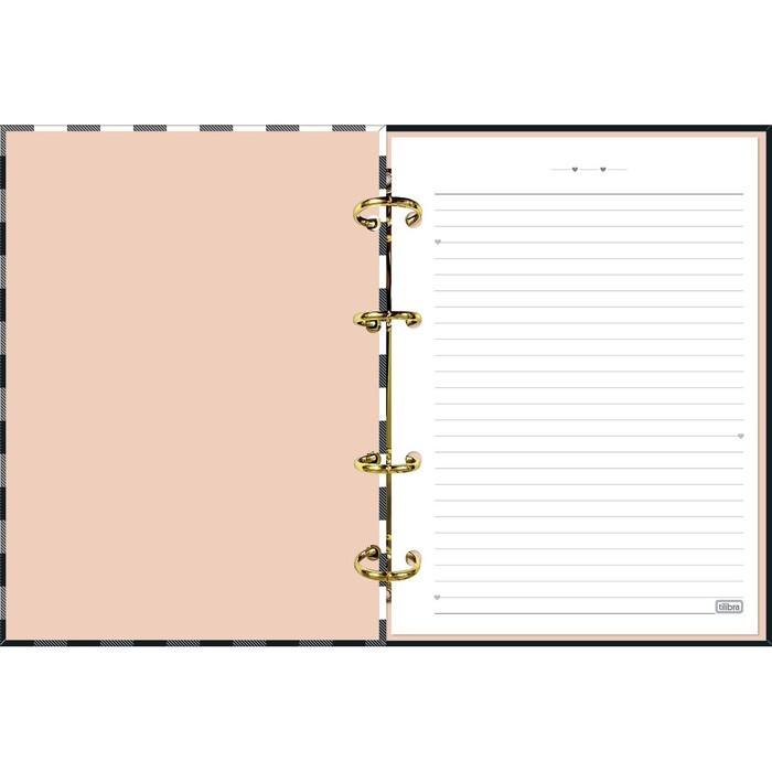 Caderno Colegial Argolado Cartonado Tilibra West Village com 160 Folhas
