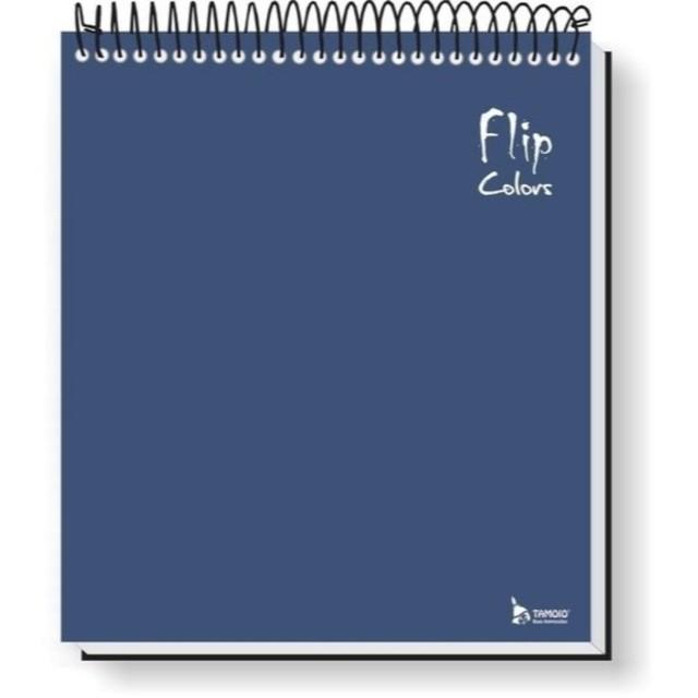 Caderno Para Canhotos com 10 Matérias Tamoio Flipcolors Azul