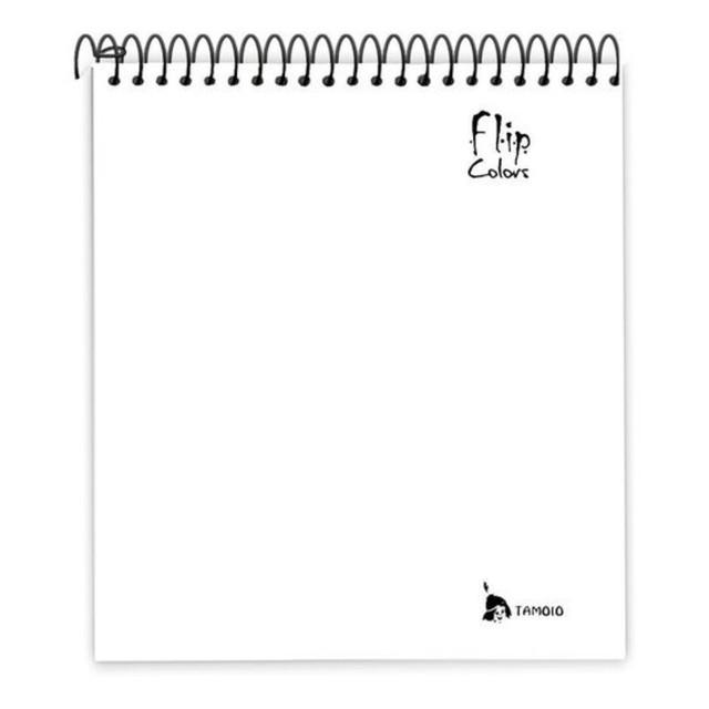 Caderno Para Canhotos com 10 Matérias Tamoio Flipcolors Branco