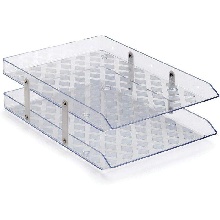 Caixa de Correspondência Dupla Móvel Transparente Waleu