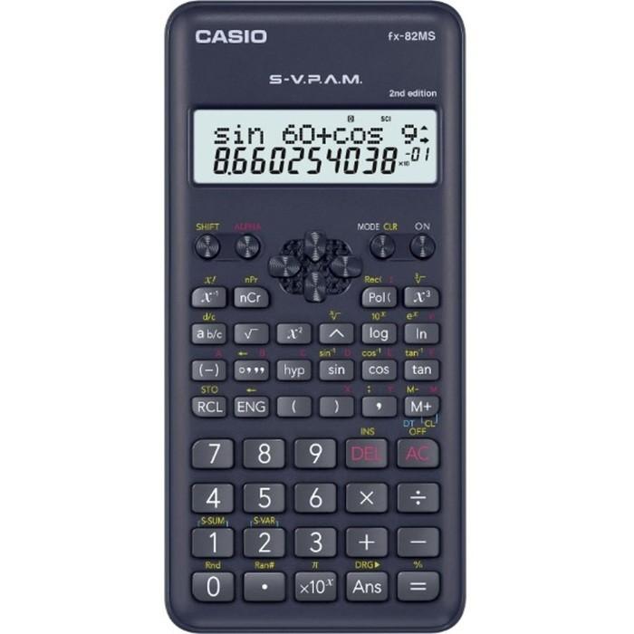 Calculadora Científica Casio FX-82MS com 240 Funções