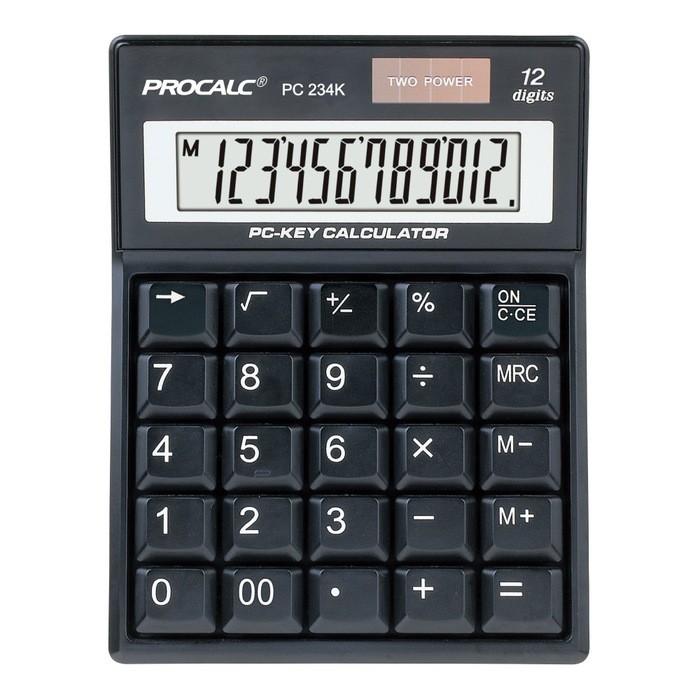 Calculadora com 12 Dígitos Procalc PC234k
