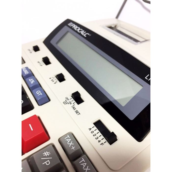 Calculadora De Mesa Com Bobina Procalc LP45