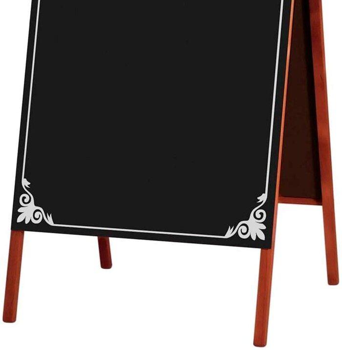 Cavalete de Calçada com Quadro Negro 70x50cm - Souza Decor 1