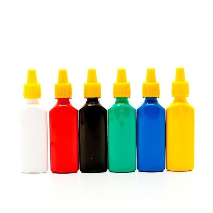 Cola Colorida com 6 Cores Acrilex 02606
