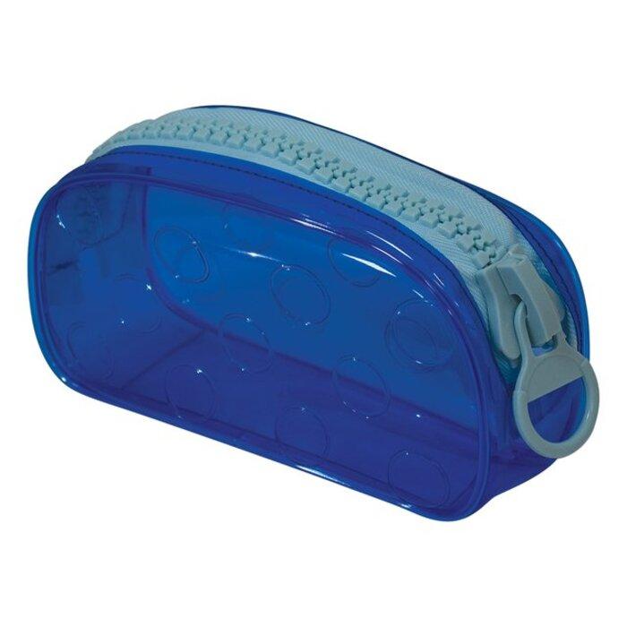 Estojo Plástico Neon com Zíper Gigante DAC Bubble