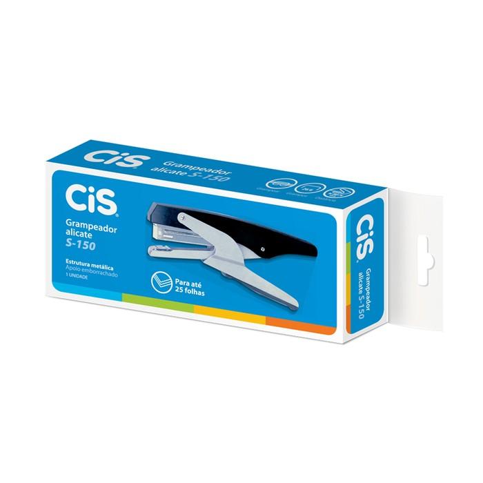 Grampeador Alicate para 25 Folhas CIS S150 - 26/6