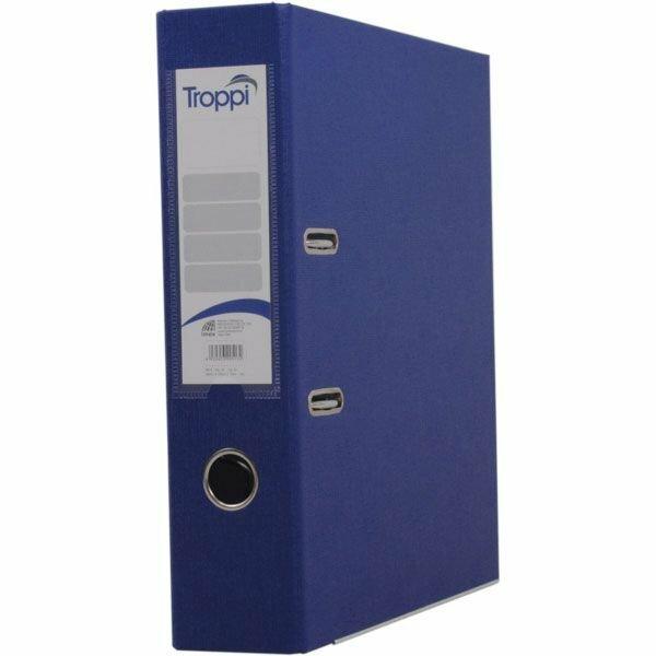 Kit - 10 Pastas Registradoras AZ Oficio Azul Troppi 90501