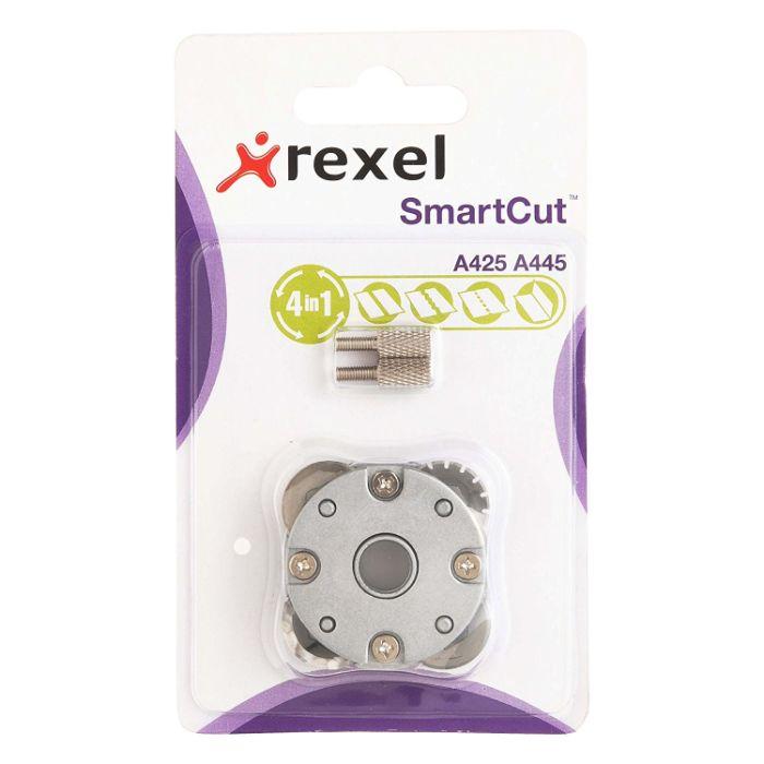 Kit - Lâmina Multifunção e Base de Corte para Refiladora Rexel A425