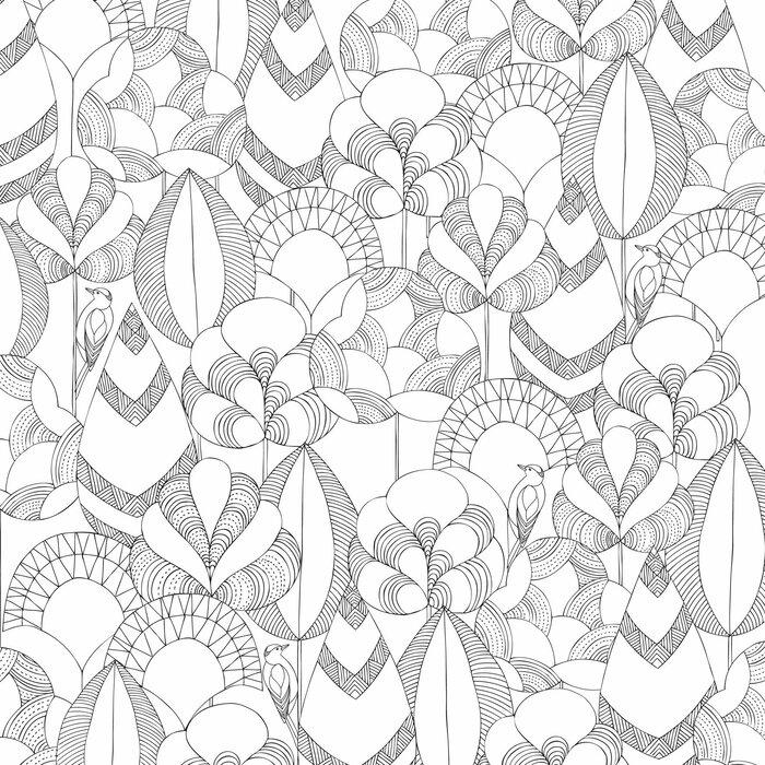 Kit - Livro de Colorir Antiestresse Reino Animal + Lápis de Cor Faber-Castell 60 Cores