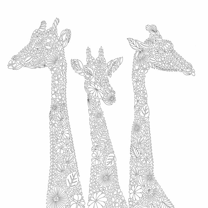 Kit - Livro de Colorir Antiestresse Reino Animal + Lápis de Cor Faber-Castell Supersoft 50 Cores
