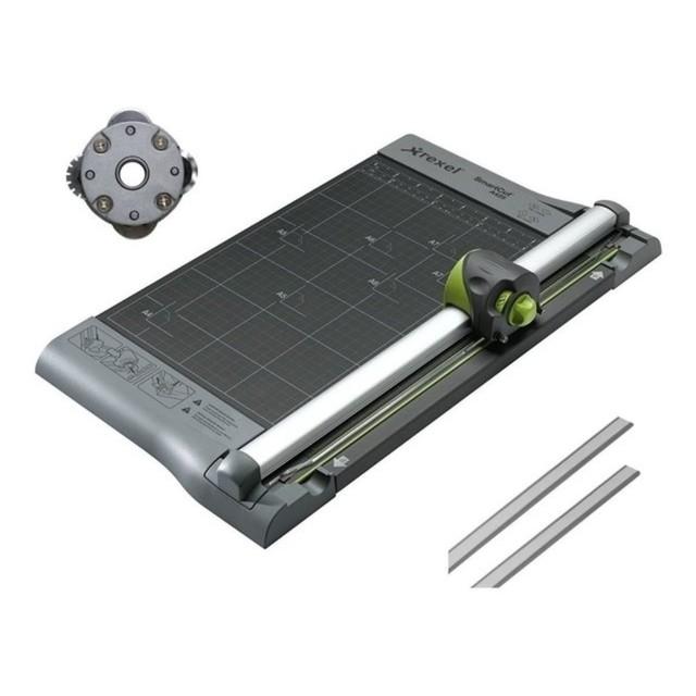Kit - Refiladora Multifuncional Tilibra Rexel A425 + Lâmina Multifunção + Base de Corte