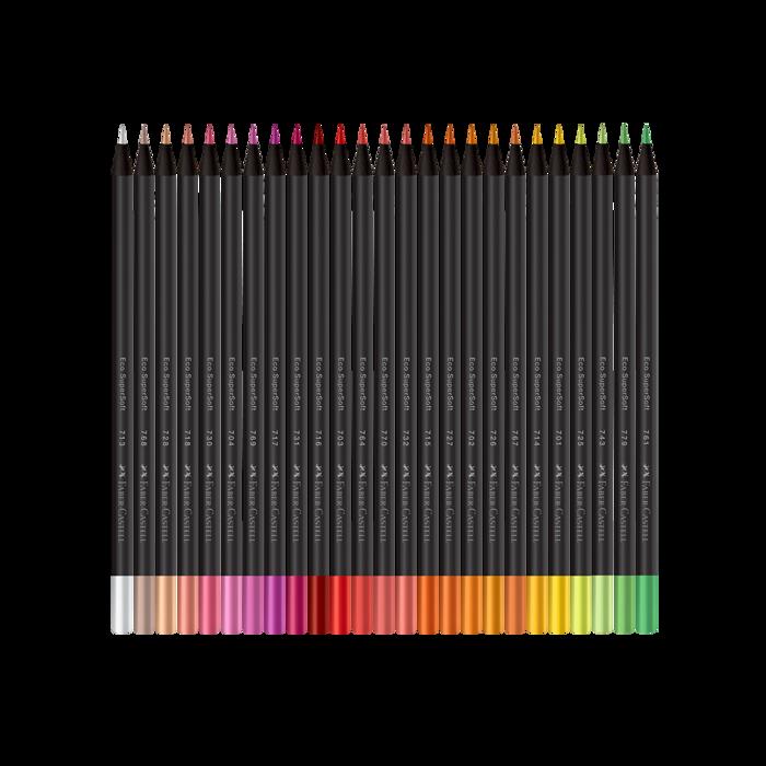 Lápis de Cor com 100 Cores Faber-Castell Supersoft