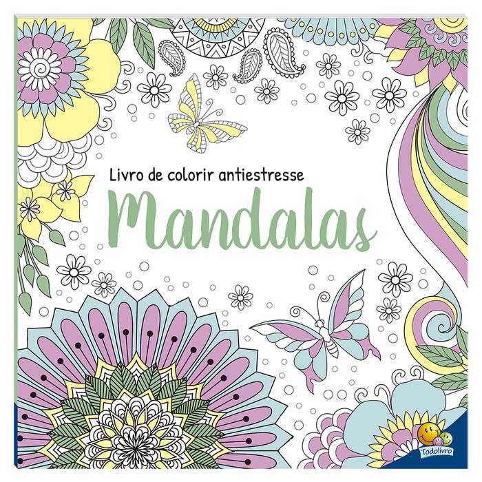 Livro de Colorir Antiestresse Mandalas