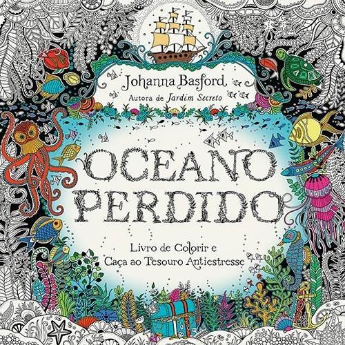 Livro De Colorir Antiestresse Oceano Perdido