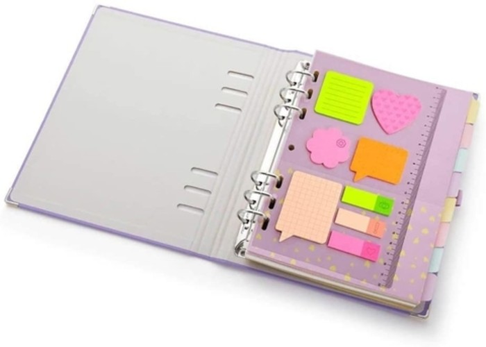 Planner Ótima Gráfica Maxi Romantic A5 Lilás