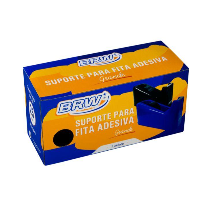 Suporte para Fita Adesiva Durex Grande BRW Preto