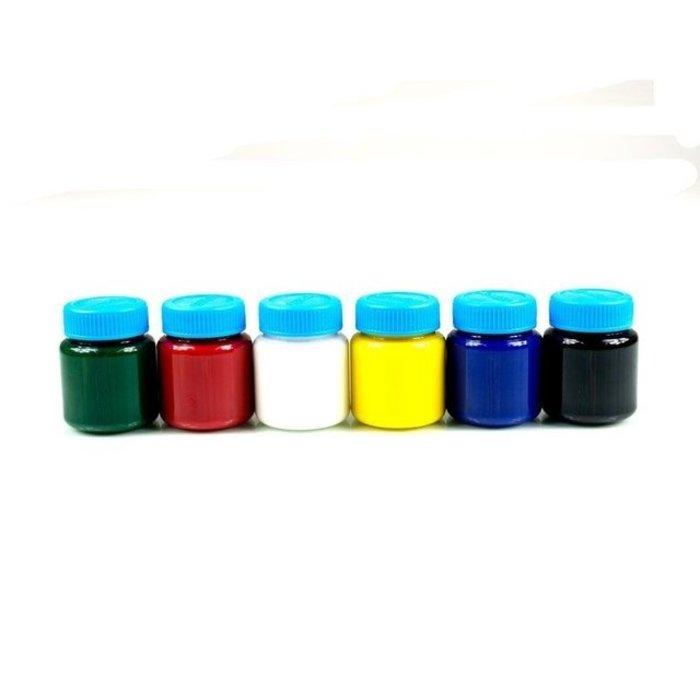 Tinta Tempera Guache com 6 Cores de 15ml Acrilex 02020