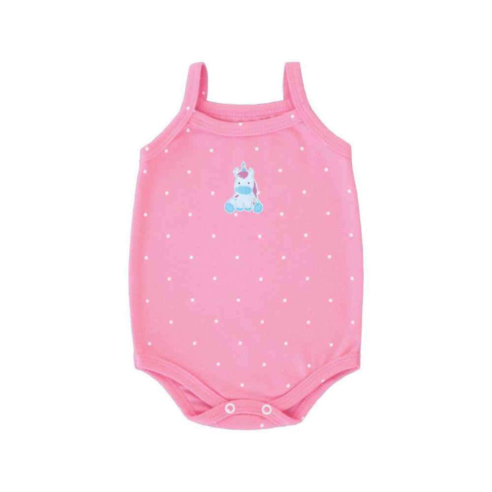 Body Bebê Alcinha Unicórnio  - Piu Blu