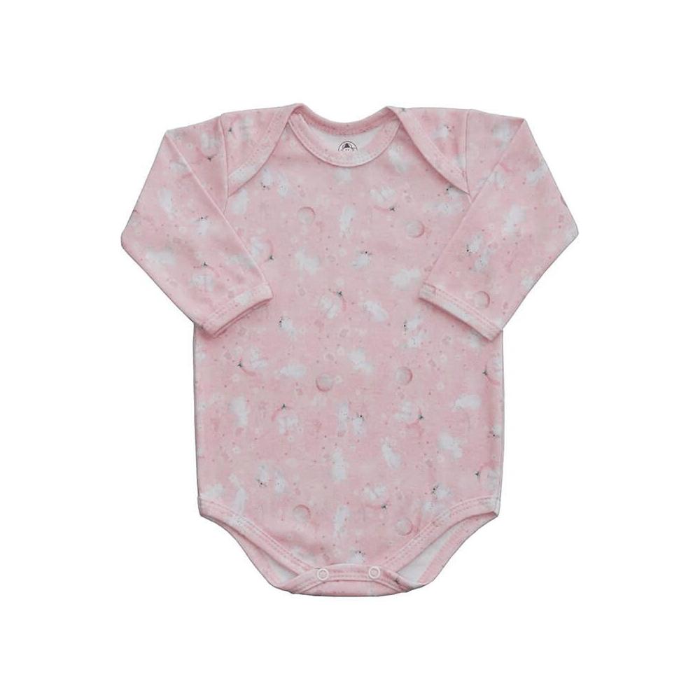 Body Bebê Manga Longa Coelhinhos  - Piu Blu