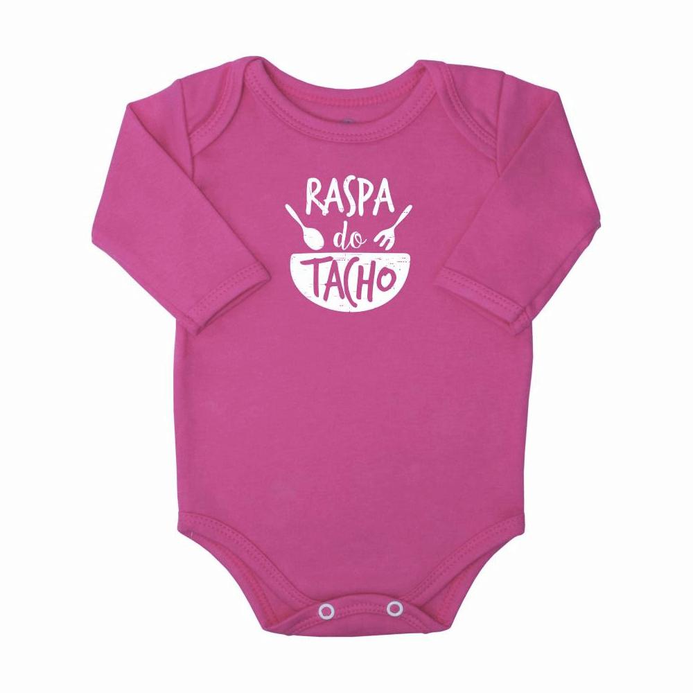Body Bebê Manga Longa Raspa do Tacho  - Piu Blu