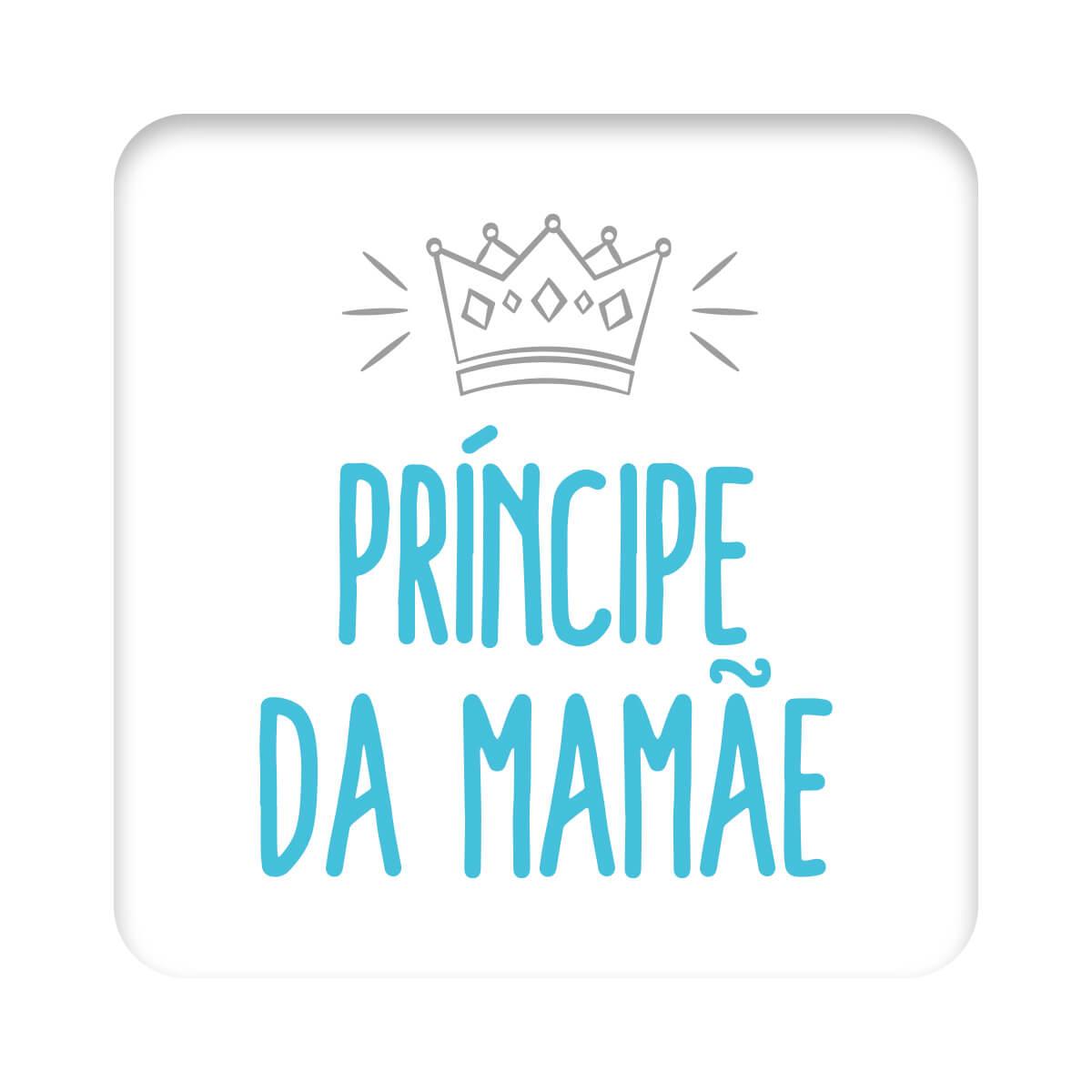 Body Frase Manga Curta Príncipe da Mamãe  - Piu Blu