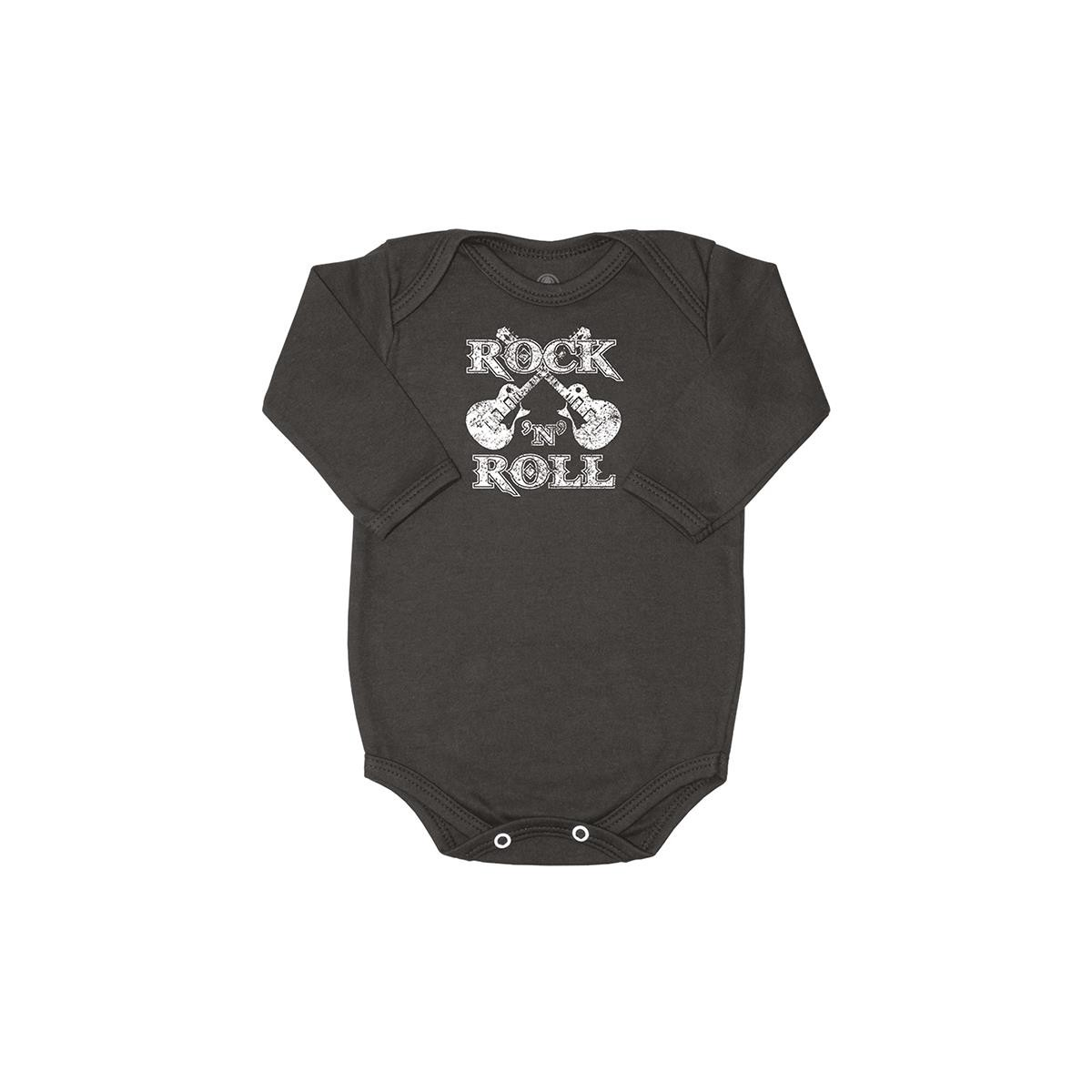 Body Manga Longa Rock n Roll
