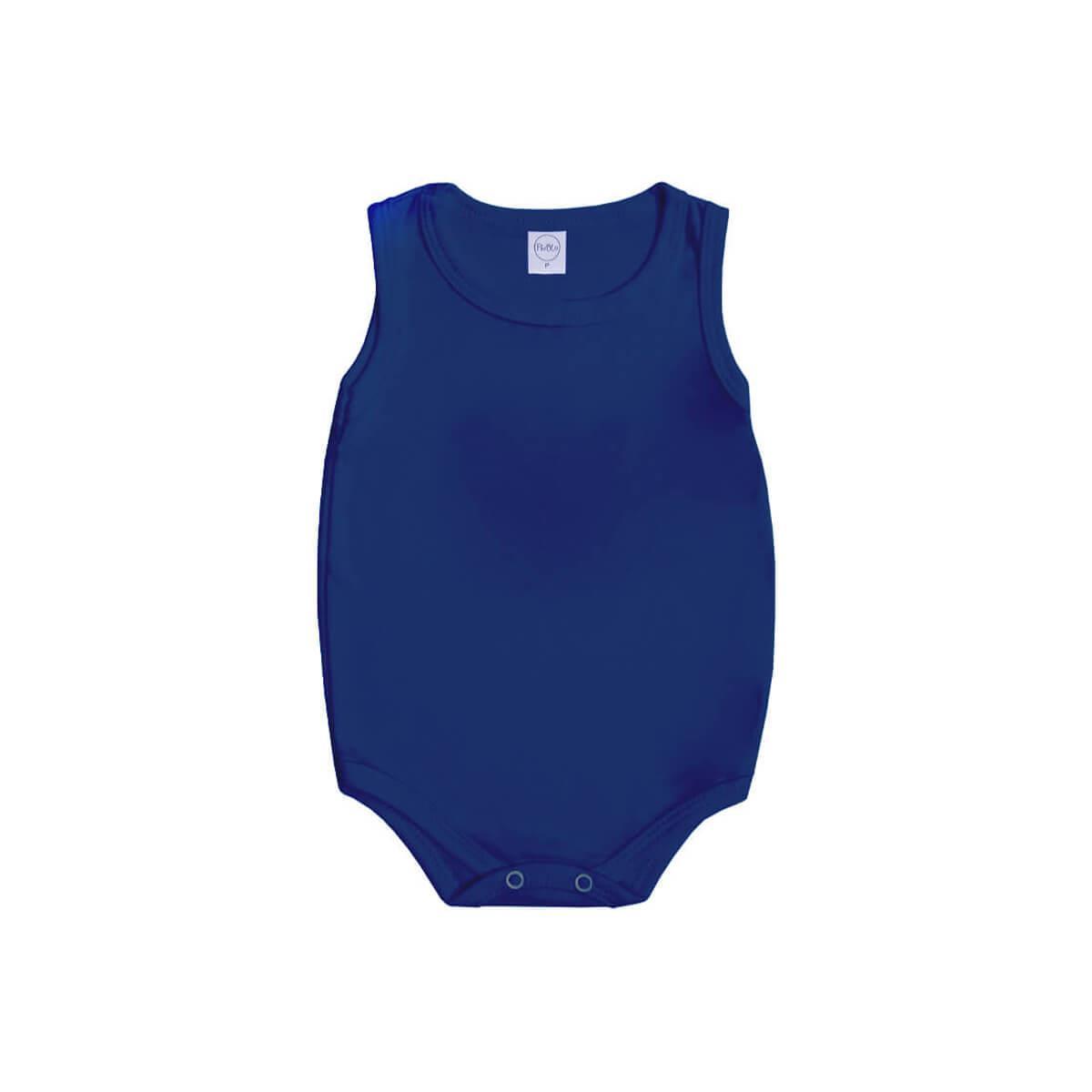 Body Regata Básico Azul Marinho  - Piu Blu