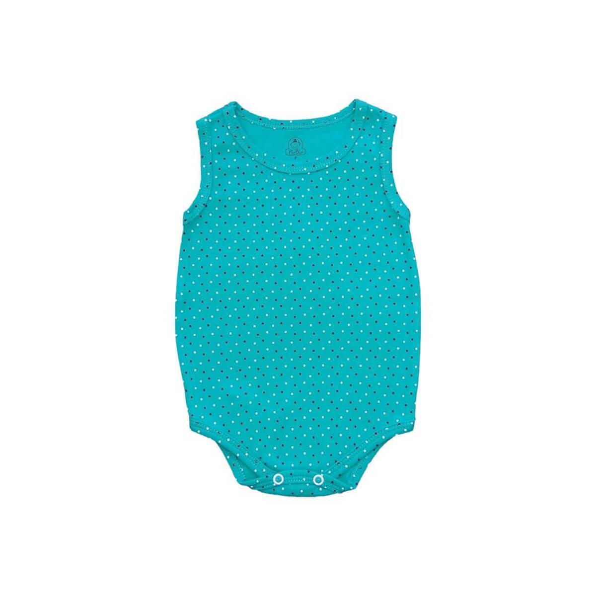 Body Regata Bolinhas Primavera  - Piu Blu