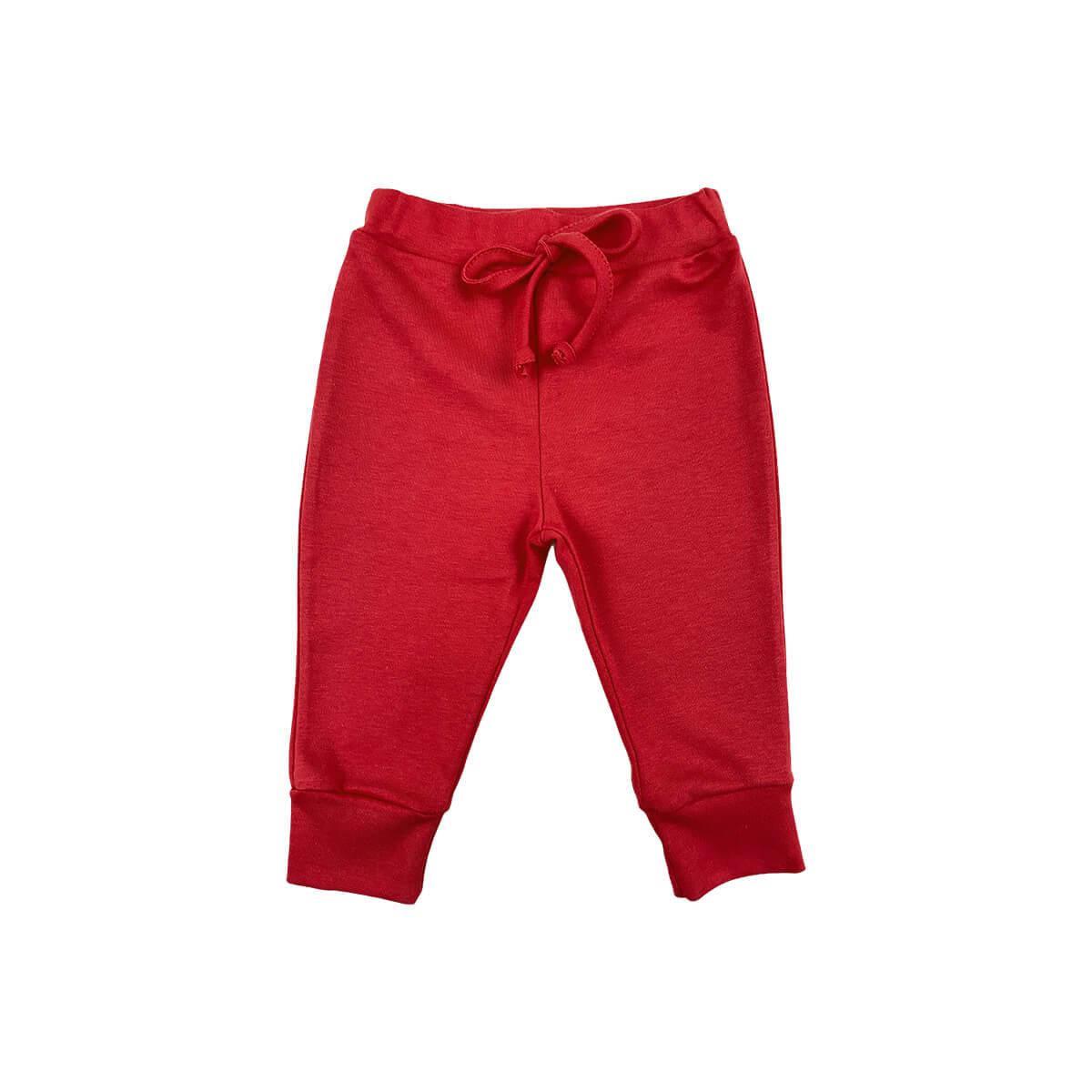 Calça Bebê Amarril Vermelho - 1 ao 3