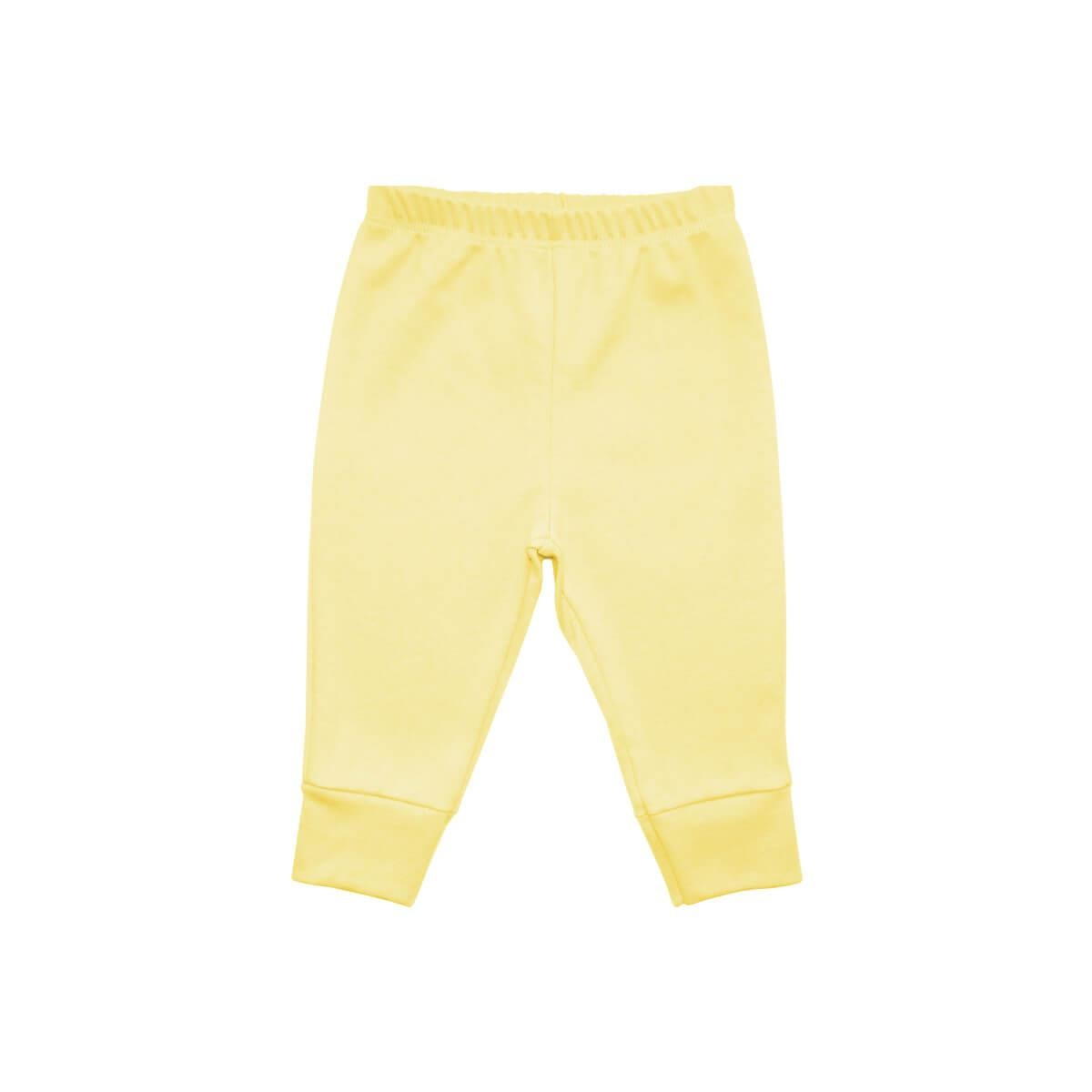 Calça Básica Amarela