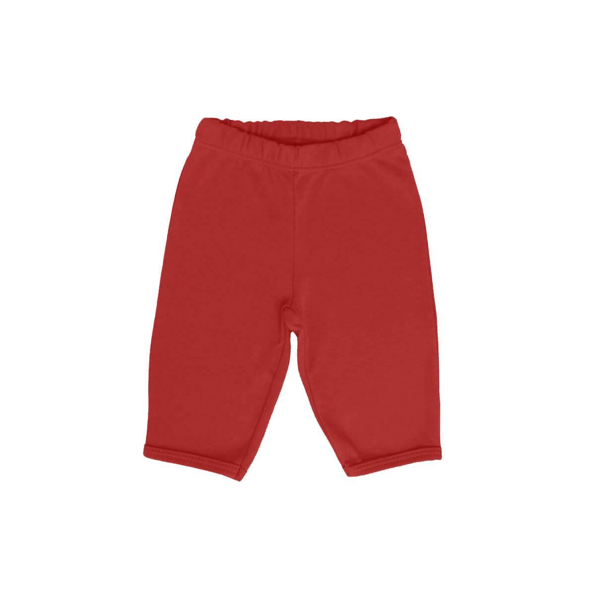 Calça Básica Vermelha