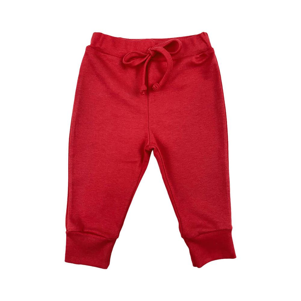 Calça Bebê Amarril Vermelho  - Piu Blu