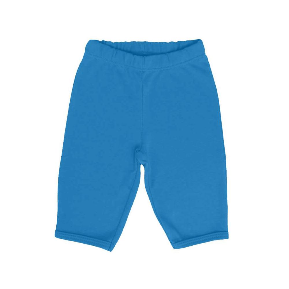 Calça Bebê Básica Azul Cobalto  - Piu Blu