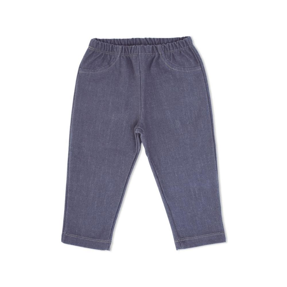 Calça Bebê Legging Estilo Jeans  - Piu Blu
