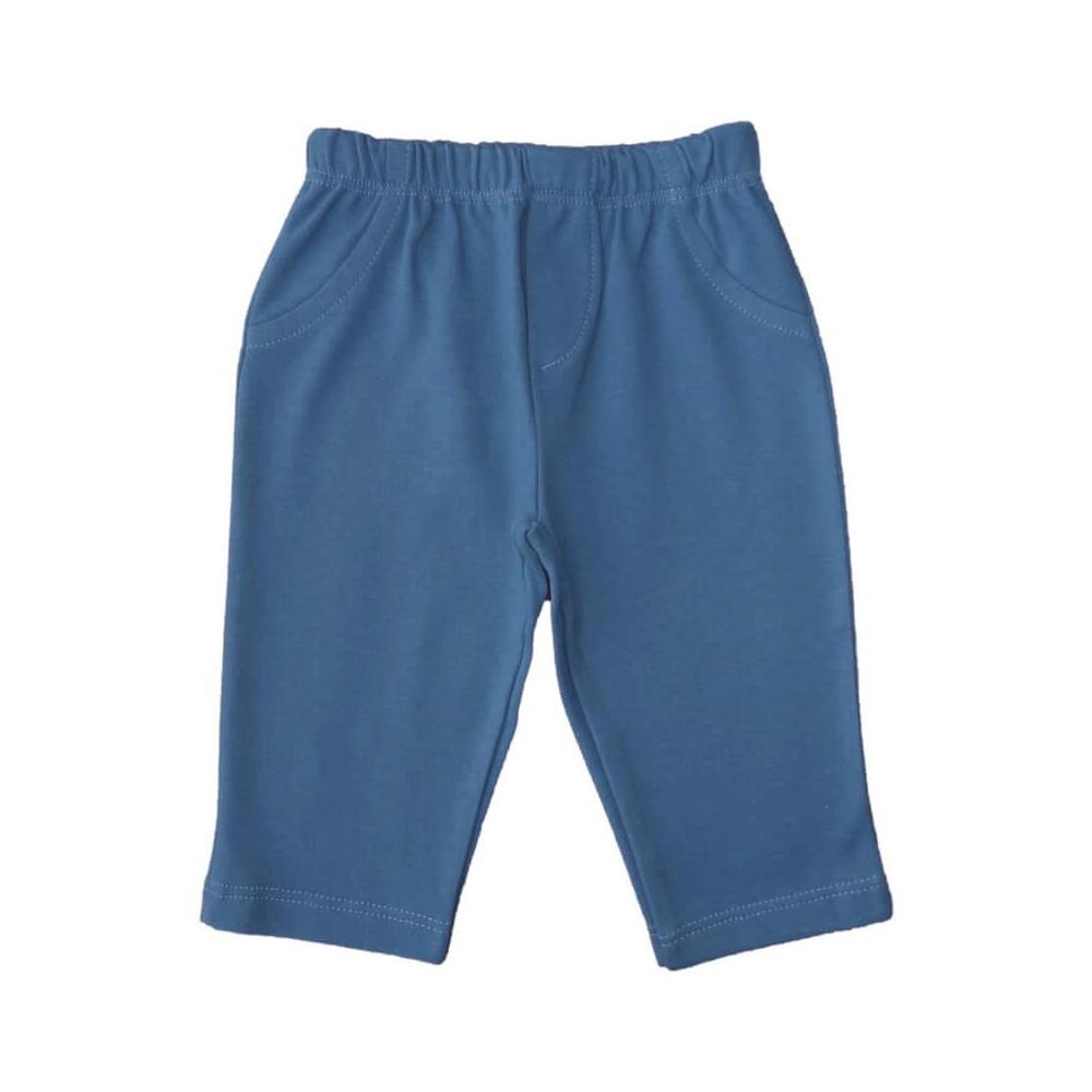 Calça Bebê Masculina Azul Denim  - Piu Blu