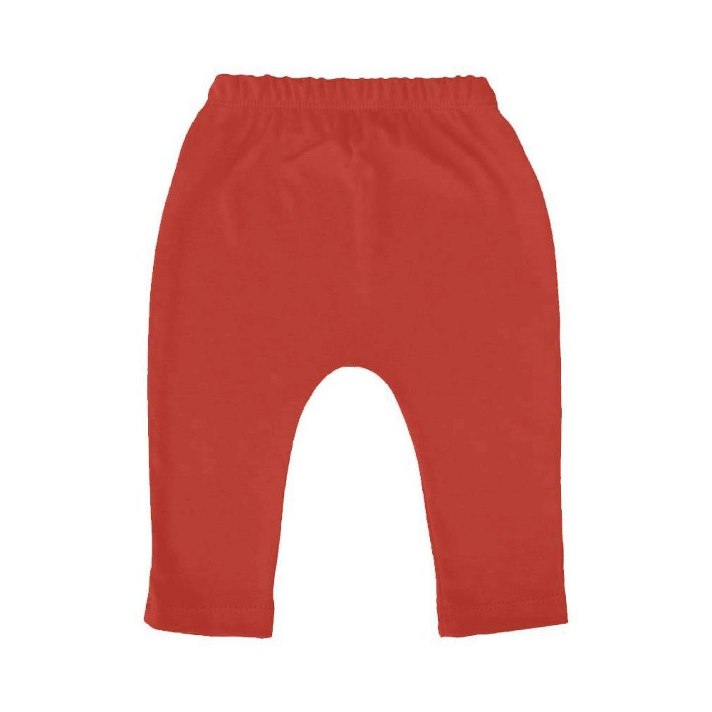 Calça Bebê Saruel Vermelha - 1 ao 3