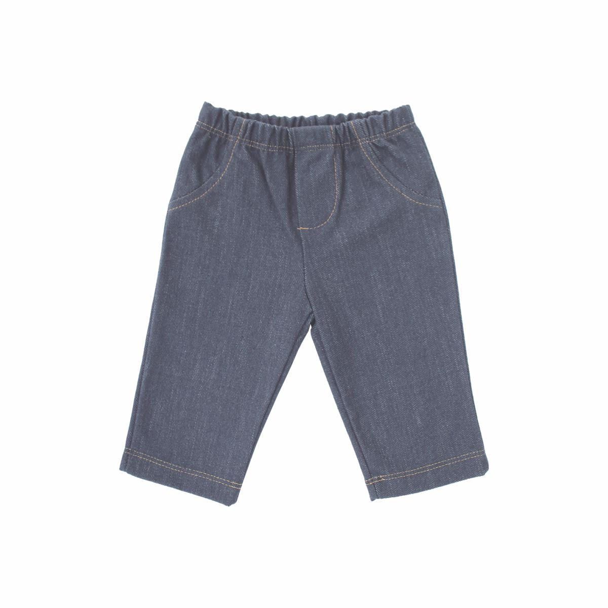 Calça Masc Estilo Jeans 1 ao 3