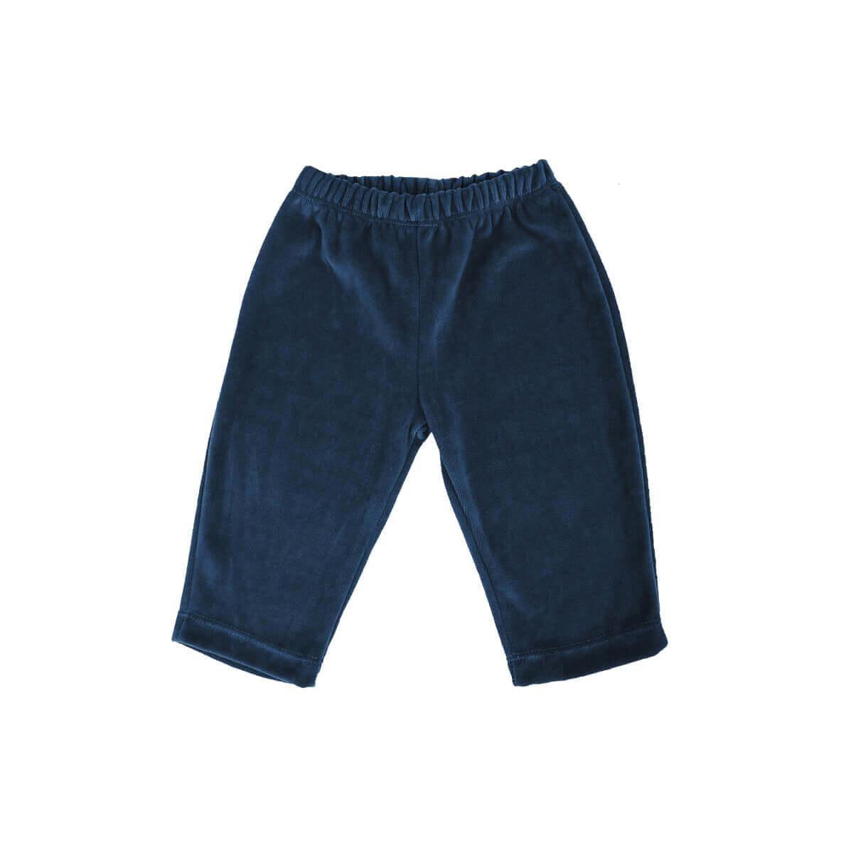Calça Plush 1 ao 3 Azul Denim  - Piu Blu