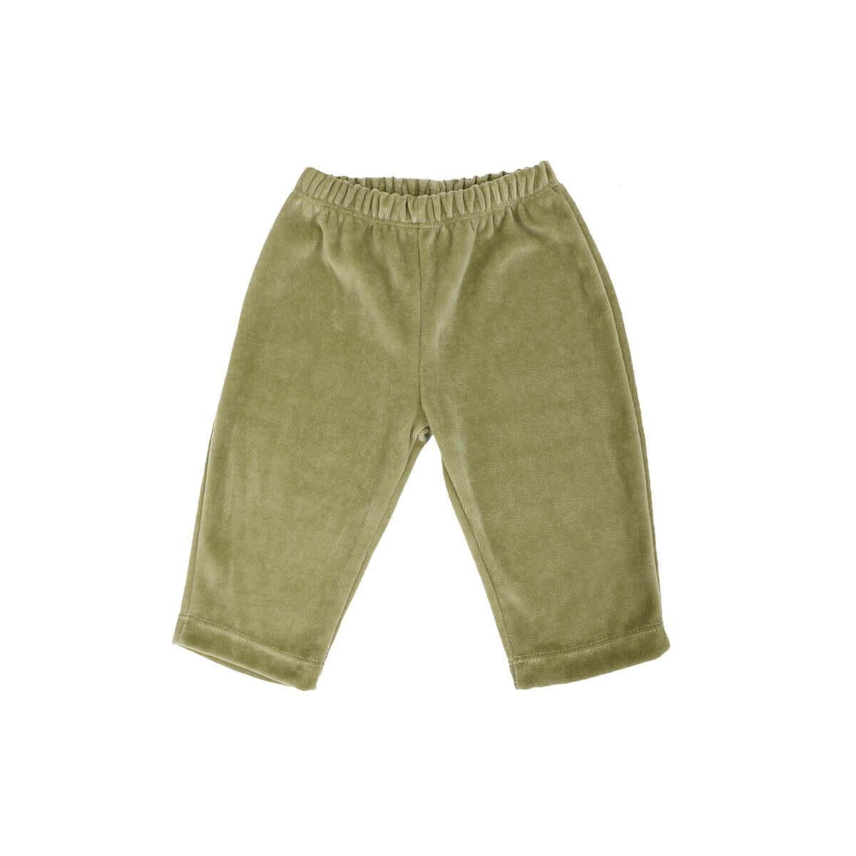 Calça Plush 1 ao 3 Verde Calipto  - Piu Blu