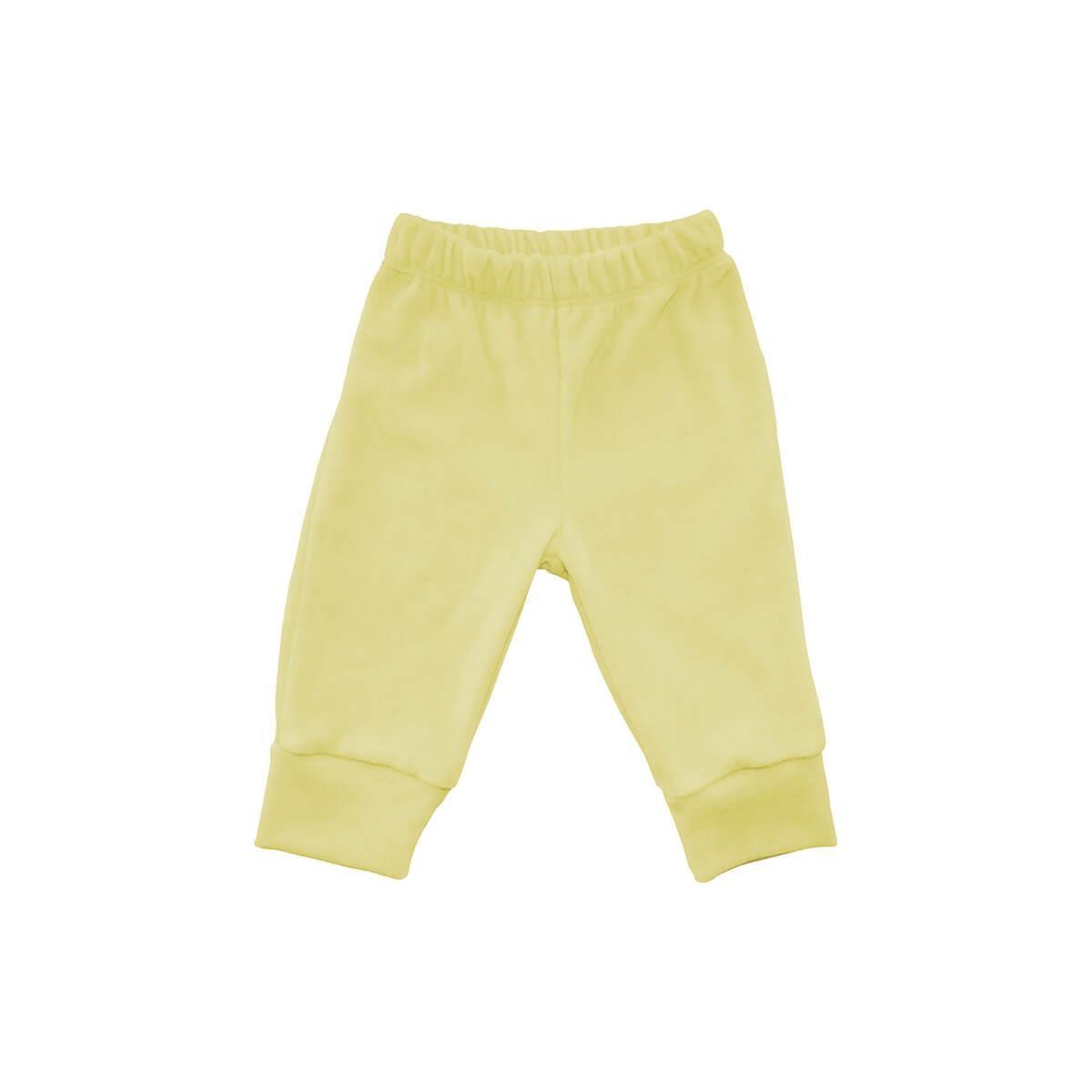 Calça Plush Amarela