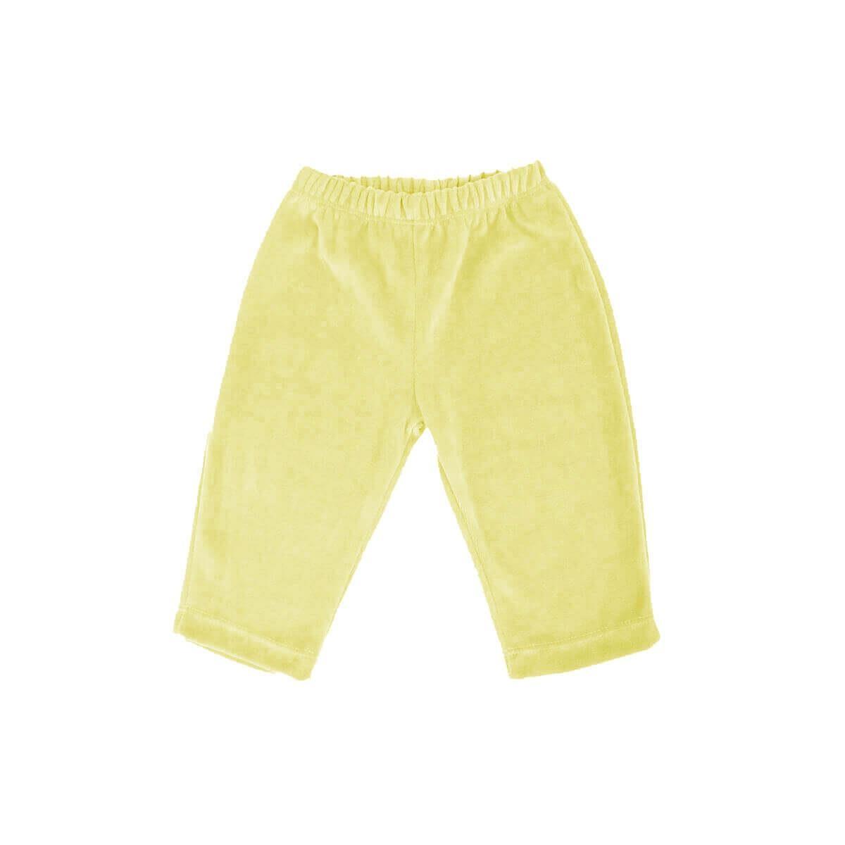 Calça Plush Amarela  - Piu Blu
