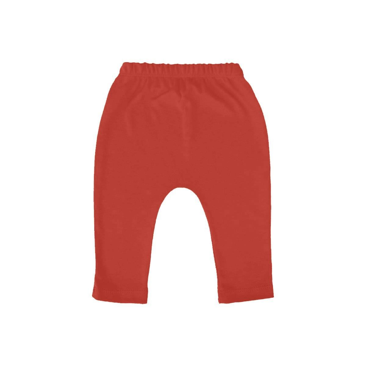 Calça Saruel do 1 ao 3 Vermelha