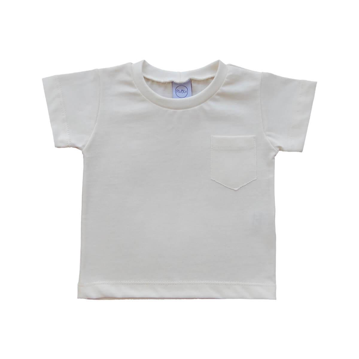 Camiseta Manga Curta Off White 1 ao 3