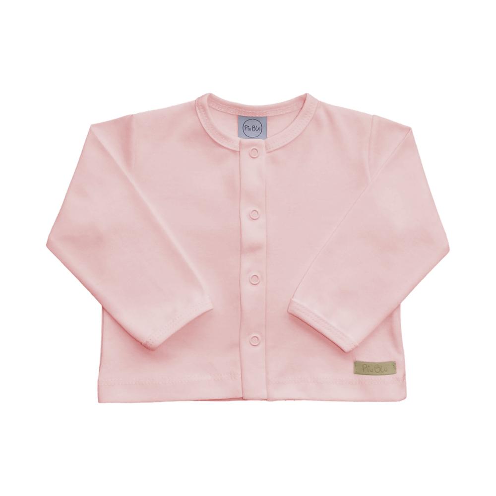 Casaquinho Bebê Rosa  - Piu Blu