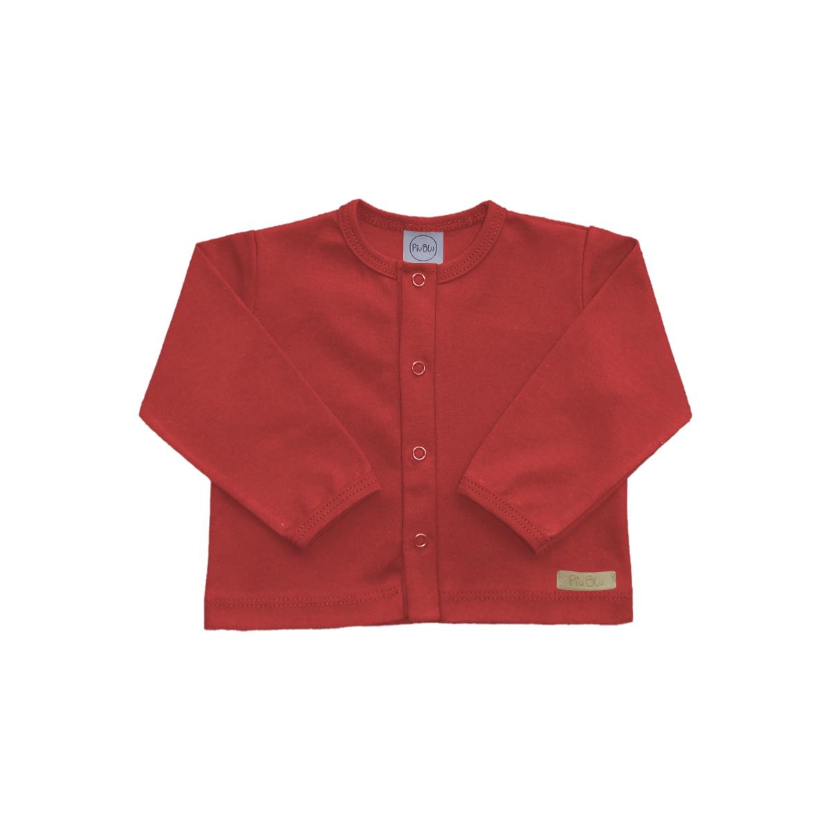Casaquinho Vermelho - 1 ao 3