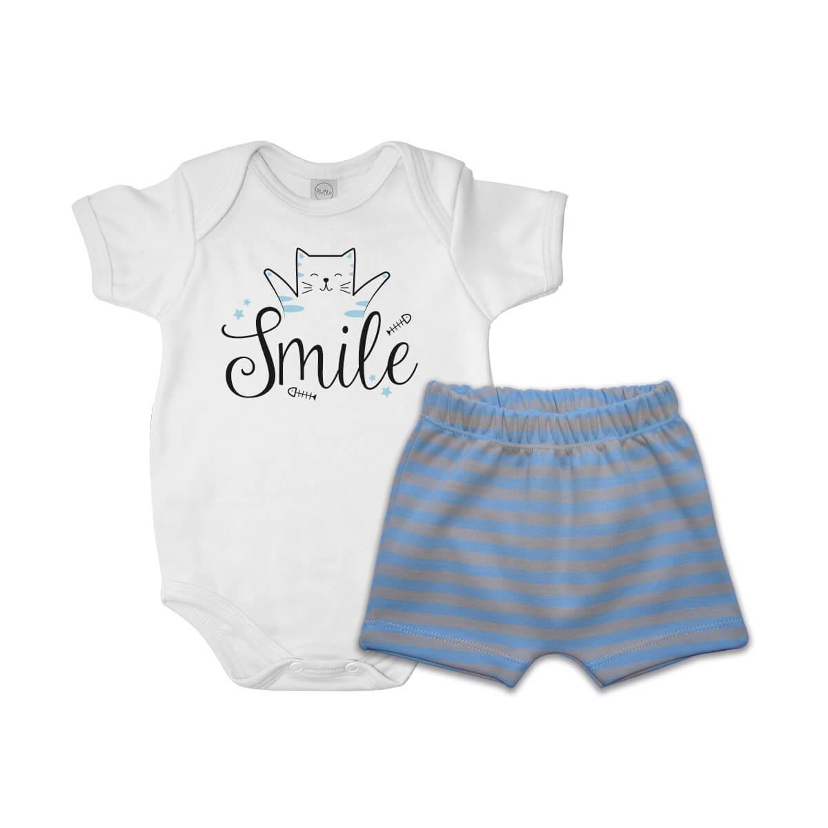Conjunto Curto Smile  - Piu Blu