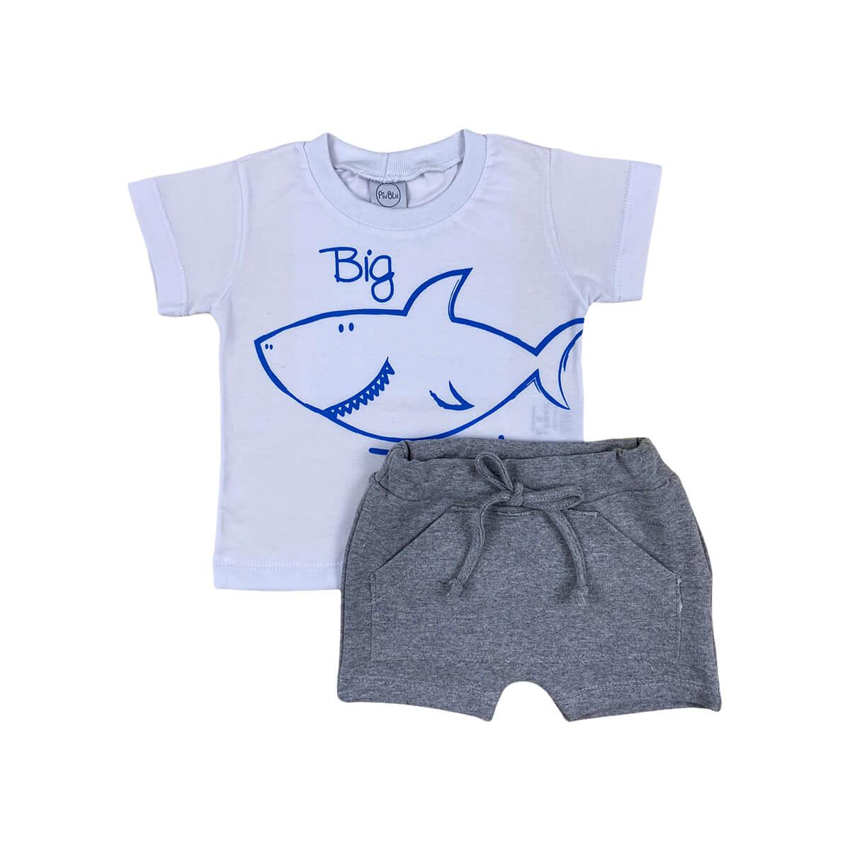 Conjunto Curto Tubarão