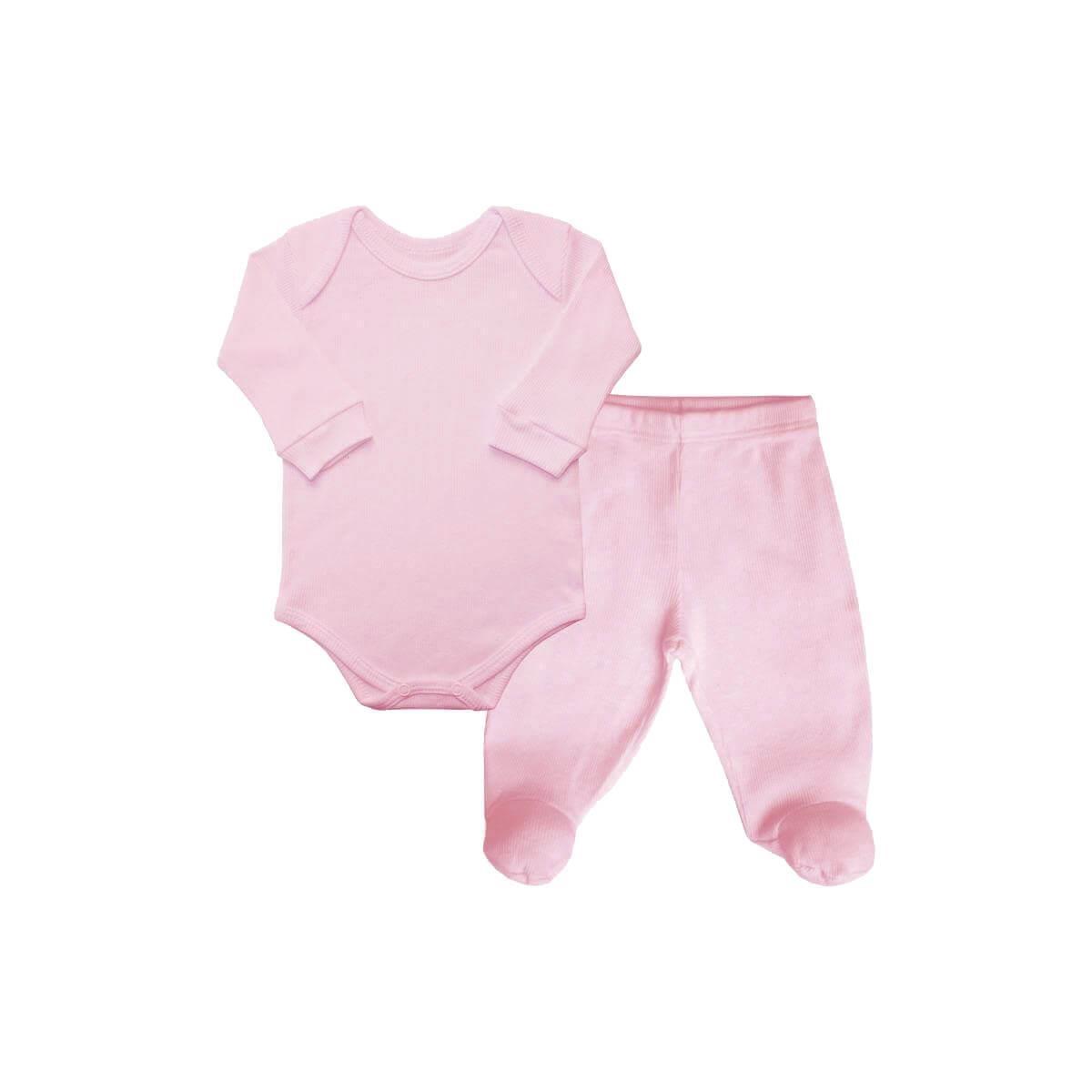 Conjunto Longo Canelado Underwear