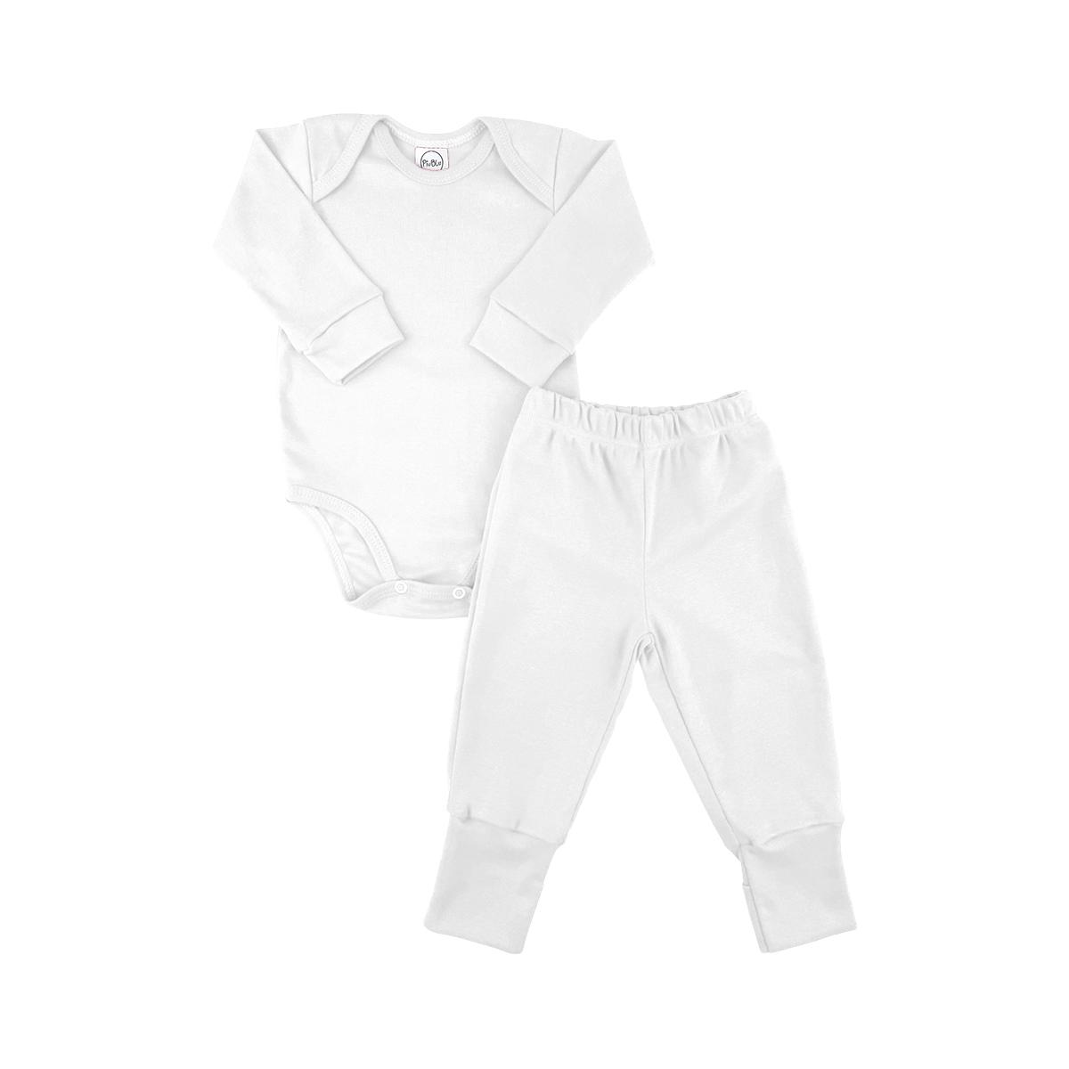 Conjunto Longo Underwear Branco